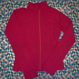 Lululemon Pink Full Zip Up Track Jacket